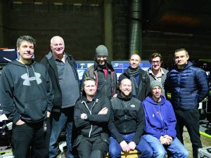 The video and projection teams who worked with CT equipment and bespoke Gerriets materials.