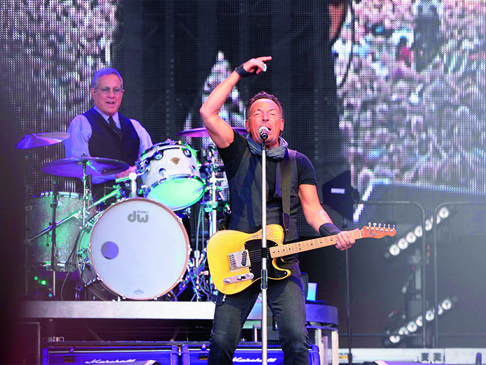 After a US run, Bruce Springsteen and the E Street Band visited European shores to complete a run of stadium shows beginning in Barcelona, Spain.