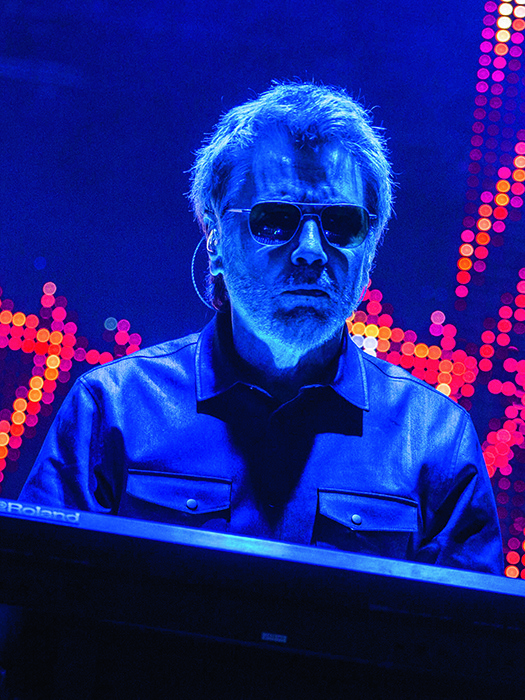 Jean-Michel Jarre was one of the higher-profile acts on Bluedot's inaugural line-up.