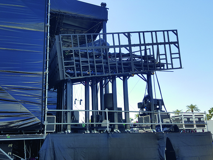 Acorn Event Structures were on hand at the festival suppling the North and South Arc Stages for its third year running. The company also proudly launched  its new Super Structure which was used for the the Steel Yard at this years event.