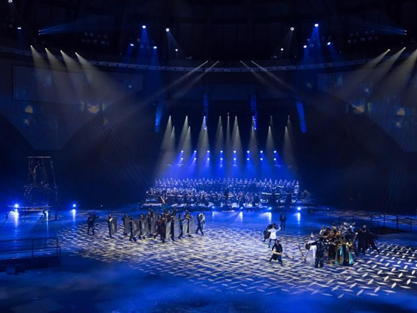 claypaky provides heavenly theatrical lighting to wroclaw