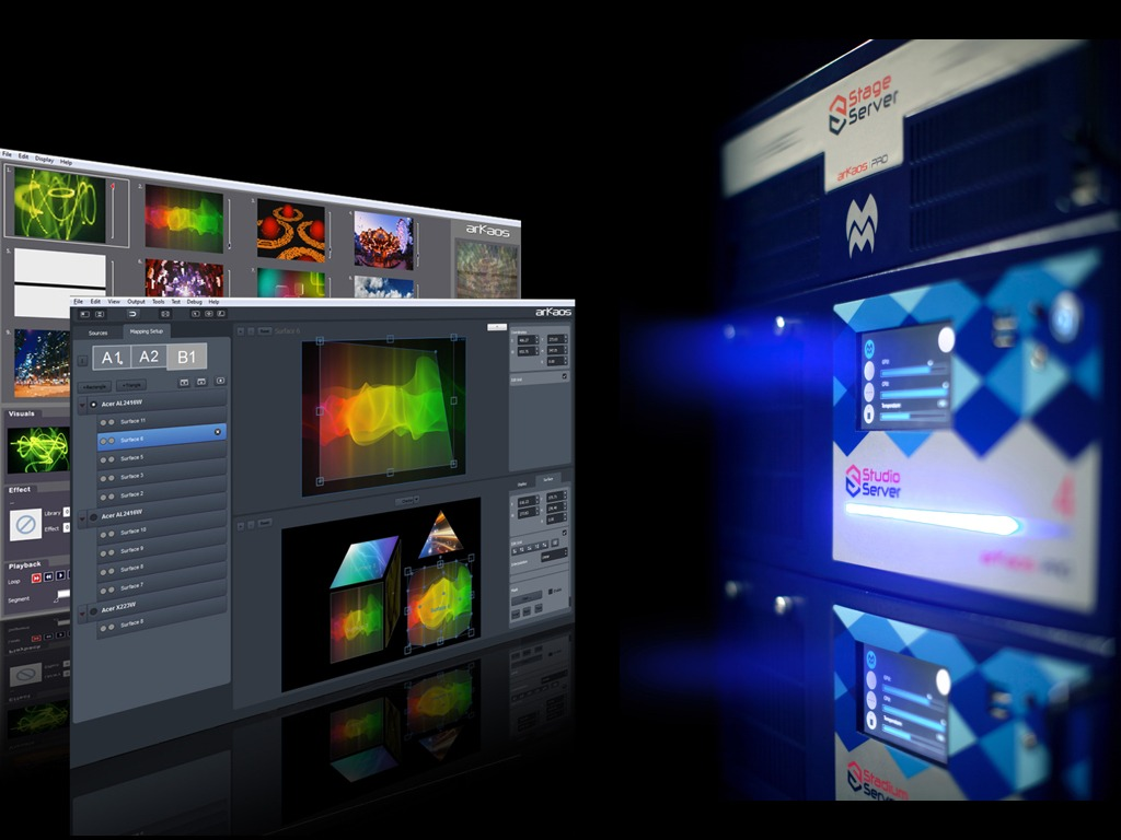 ArKaos and High End Systems Collaboration Delivers Fast-access Video ...