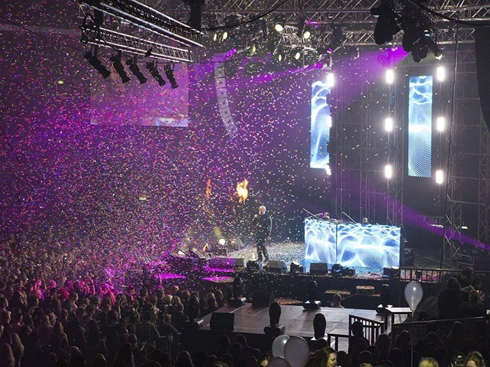 Music Awards For 8000 People With Next Proaudio Tpi