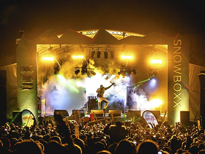 Snowbo Festival Lighting Supplied By Fineline Tpi