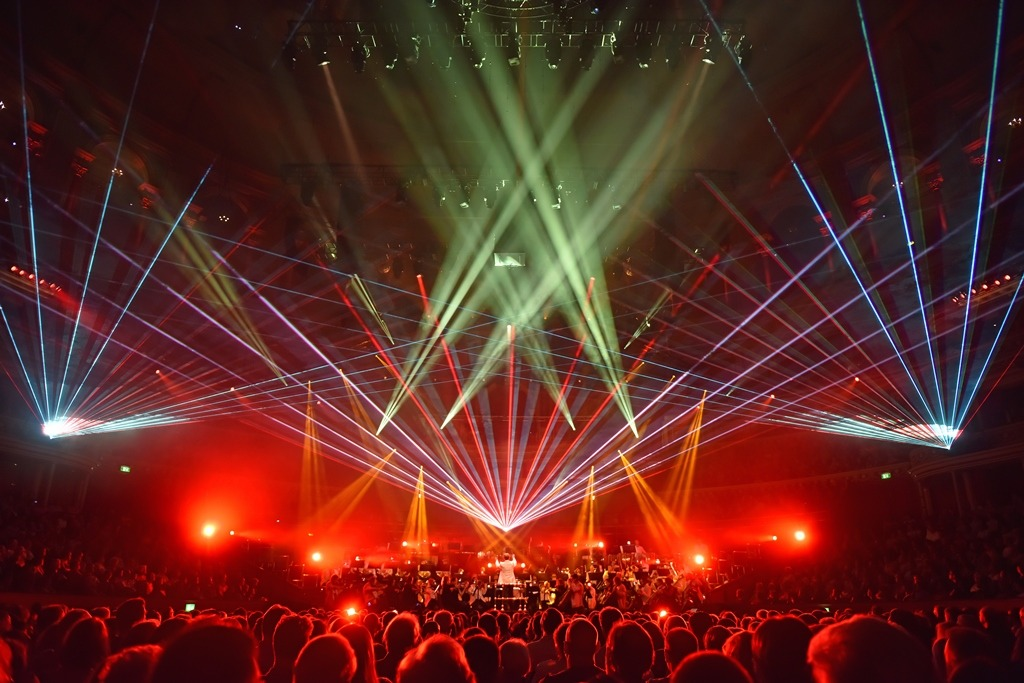 Spectacular Lighting Intended The Annual Spaceinspired Music Coproduction Between Royal Albert Hall rah And Promoter Raymond Gubbay Needed Spectacular Lighting Effects The Hallu0027s Space Spectacular Lifts Off With Jands Vista