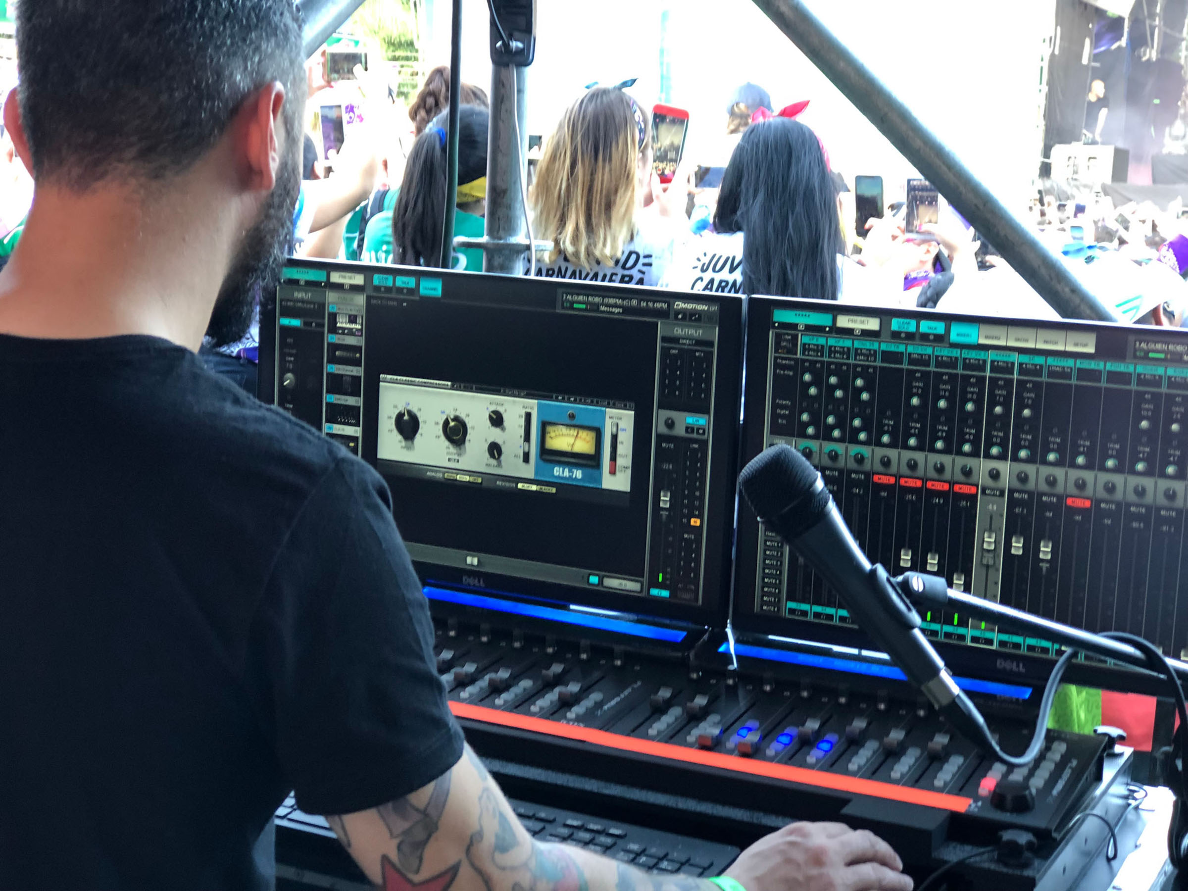 FOH, Monitor and Broadcast Engineers Choose the eMotion LV1 Live