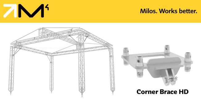 MILOS Unveils the Corner Brace HD | TPi