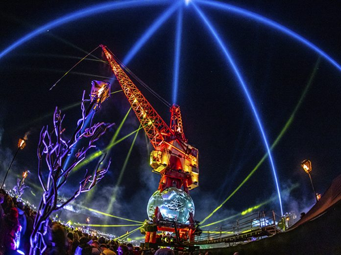 Brit Row delivers audio support to Glastonbury's Pangea