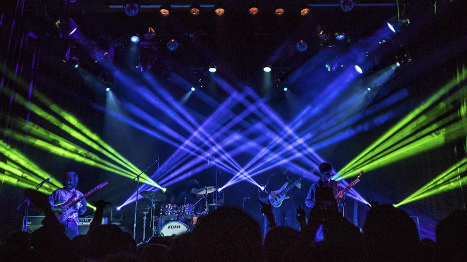 Squeek Lights and Elation DARTZ for Chon Summer Tour | TPi