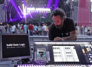 SSL Makes Live Jamming Sessions A Breeze On Pedro Abrunhosa Portuguese Tour