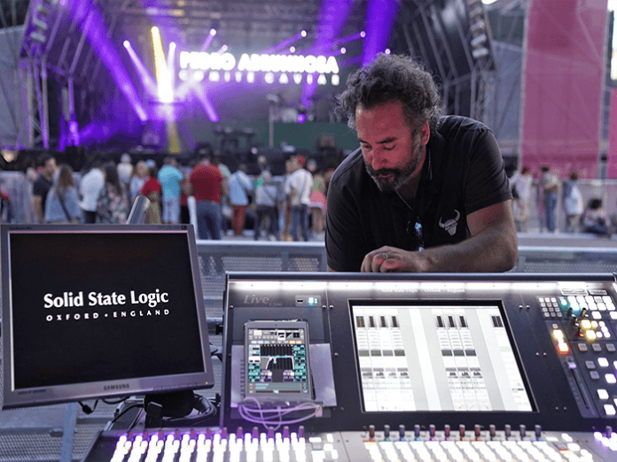 SSL Makes Live Jamming Sessions A Breeze On Pedro Abrunhosa Portuguese Tour