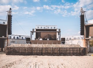 ENTEC chooses CODA Audio AiRAY for Desert Valley Stage at Parookaville