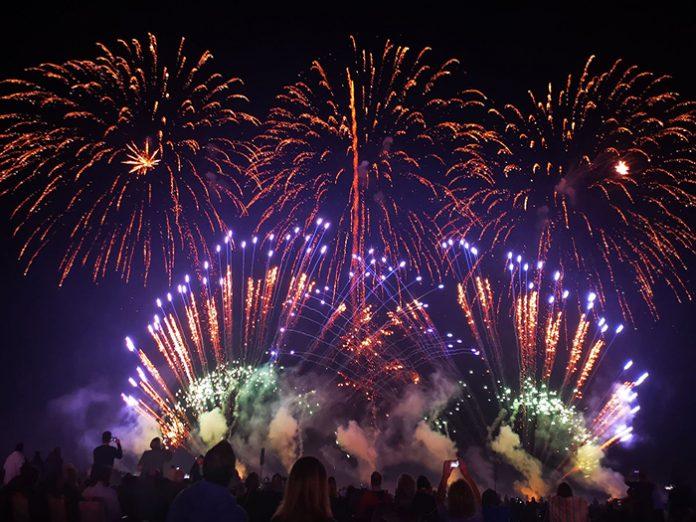 EM Acoustics at Abingdon Summer Fireworks Festival