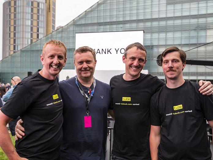 tube uk crew at MIF 2019