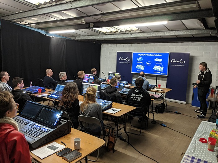 Lighting Hosts Lds For Magicq Training