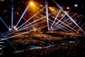 Robe illuminates Melodifestivalen 2020.