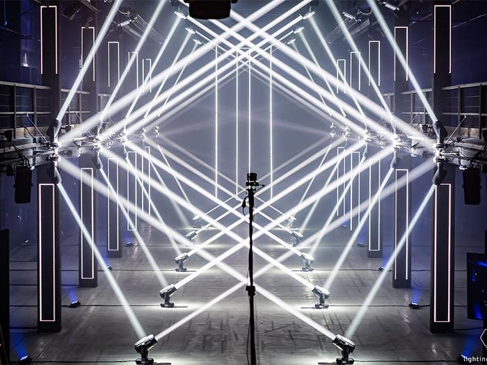 Robe Lights Lux Partum Art Installation   TPi